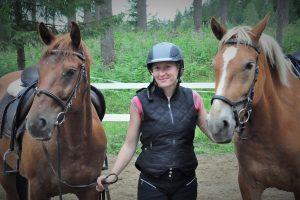 Virva ja hevoset, Kivikkolan tila